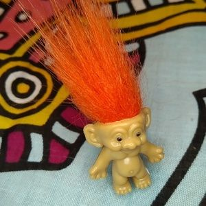 Orange Troll Ring